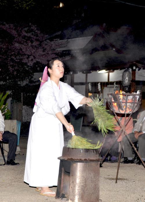 御幸森天神宮-稲荷祭